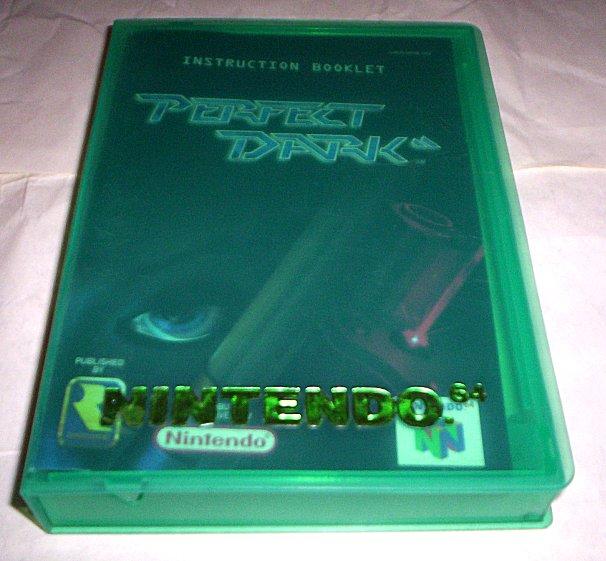 perfect dark instruction manual